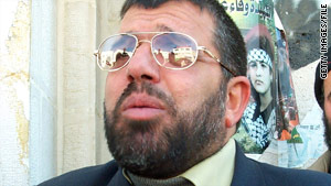 Hamas' Sheikh Hassan Yousef, in an undated photo, is the father of reported Shin Bet informant Mosab Hassan Yousef.