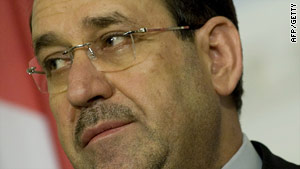 Iraqi Prime Minister Nuri al-Maliki has not previously said he would consider asking for extended deadlines.