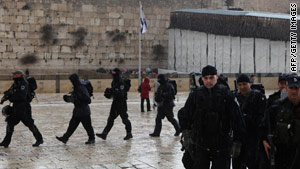 A number of clashes between Palestinians and Israeli police at the site have been reported.