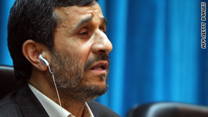 Iranian President Mahmoud Ahmadinejad called 9/11 attacks a way  for the U.S. to invade Afghanistan.