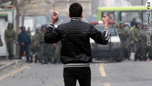 Iran accused the U.S. of using anti-filtering software to wage psychological warfare during anti-government protests.