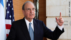 George Mitchell is the U.S. special envoy to the Middle East. Sources say his latest scheduled trip is now on hold.