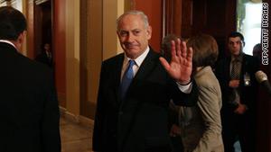 Israeli Prime Minister Benjamin Netanyahu met with Barack Obama on Tuesday.