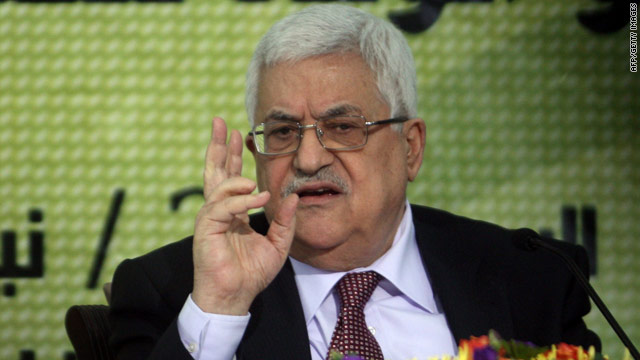 Palestinian Authority President Mahmoud Abbas addresses Fatah party leaders in Ramallah on Saturday.
