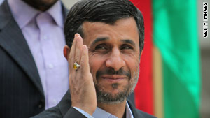 Iranian President Mahmoud Ahmadinejad plans to attend the U.N. summit on the Nuclear Non-Proliferation Treaty this week.