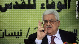 Mahmoud Abbas says he is ready for a new round of peace talks with Israel.