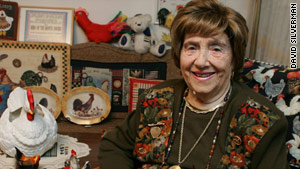"""Clara Hammer, above, was a """"mitzvah lady,"""" says her daughter, who will carry on the work."""