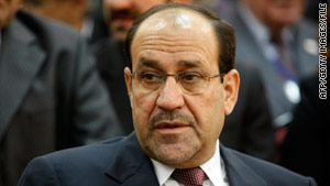 Political opponents have accused Prime Minister Nuri al-Maliki of trying to alter the results.
