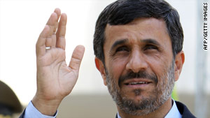 An adviser to Iranian President Mahmoud Ahmadinejad says the push for sanctions won't hurt Iran but alienate the U.S.