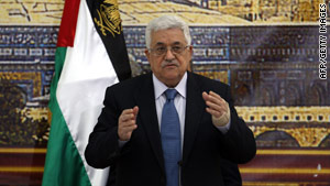 Palestinian President Mahmoud Abbas called for three days of mourning in the Palestinian territories.