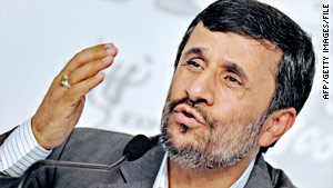 Ahmadinejad says the latest U.N. Security Council vote for sanctions on his regime shows U.S. influence is declining.