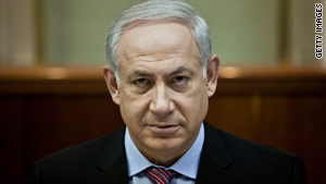 Prime Minister Benjamin Netanyahu says Israeli policy is not to keep aid from reaching Gaza.