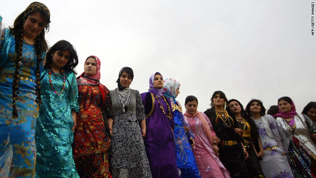 Kurdish women at a wedding. A Human Rights Watch report says female circumcision remains common in Iraqi Kurdistan.