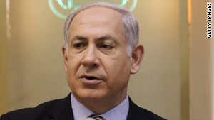 A campaign is reminding Israeli Prime Minister Benjamin Netanyahu that he said the settlement freeze was temporary.