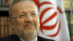 Iranian Foreign Minister Manouchehr Mottaki says Iran wants to restart talks on a nuclear fuel exchange.