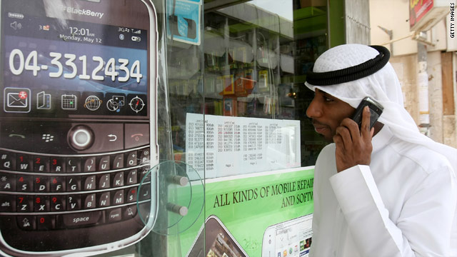 The UAE has stated it will suspend key BlackBerry services from October.