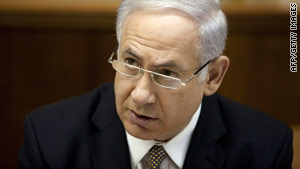 "Benjamin Netanyahu says his goal is to ""seriously and responsibly"" advance a peace agreement with Palestinians."
