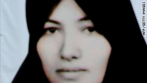 Sakineh Mohammadi Ashtiani was sentenced to death by stoning after she was convicted of adultery.