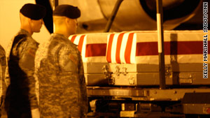 The deaths of Sgt. Phillip Jenkins and Pvt. James McClamrock are the first since the mission change for U.S. forces in Iraq.