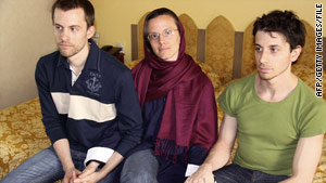 Iran has reached an agreement to release detained U.S. hiker Sarah Shourd (center) on bail, according to state-run media.