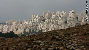 Construction of settlements is a major sticking point between Israel and the Palestinian Authority.