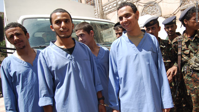 Yemen puts four al Qaeda suspects on trial Monday, all accused of planning to attack foreign tourists and interests.
