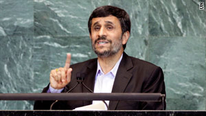 """We are prepared to have talks,"" Iranian President Mahmoud Ahmadinejad told reporters Friday."