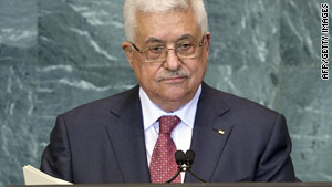 Palestinian leader Mahmoud Abbas says conflicts over borders, security and prisoners also need to be resolved.