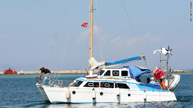 The Irene leaves Cyprus on Sunday carrying Jewish activists bound for Gaza.