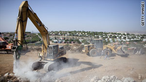 The latest round of Mideast peace talks have stalled over the Israeli settlements issue.