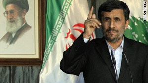 Mahmoud Ahmadinejad warned his country won't yield any international rights to peaceful nuclear energy development.