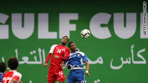 The Gulf Cup soccer tournament is scheduled to start November 22 and run through early December.