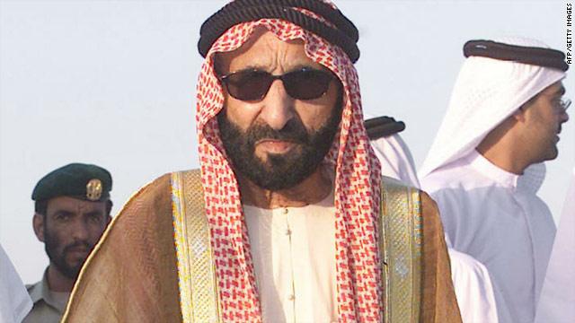 A photo from 2003 of Sheikh Saqr bin Mohammed Al Qasimi at the GCC Cup Formula 2000 championship.
