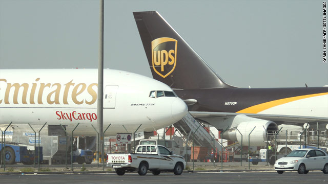 UPS pilots accused the shipping company of failing to protect them from terrorism. UPS said screening methods are adequate.