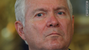 Robert Gates says sanctions aimed at stopping Iran from developing nuclear weapons are having an impact.