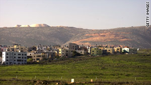 Israel captured the Golan Heights from Syria during the 1967 war.