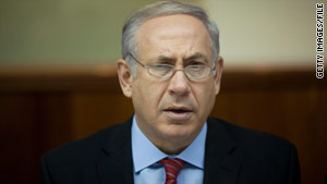 "Prime Minister Benjamin Netanyahu, shown earlier this month, says the immigrant influx ""threatens Israelis' jobs."""