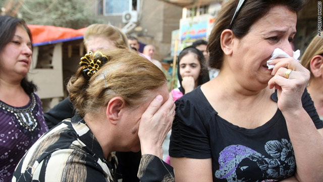 Many of Iraq's Christian minority have been forced to flee the country amid increasing violence against them.