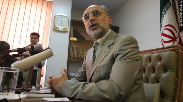 Ali-Akbar Salehi was installed Saturday as Iran's acting foreign minister.