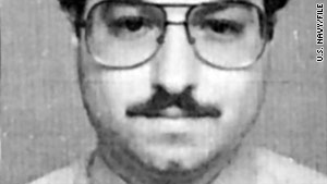 Jonathan Pollard, a former U.S. Navy intelligence analyst, was sentenced in 1987 to life in prison for spying for Israel.