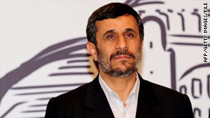 Iranian President Mahmoud Ahmadinejad has accused the West of overhyping an Iranian woman's death sentence.