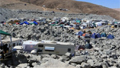 360 panorama of rescue site