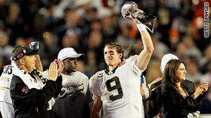 SI's Sportsman of the Year: Drew Brees