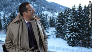 A glimpse at Davos behind the cameras