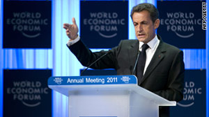 Sarkozy: We will never abandon the euro