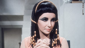 Cleopatra was played by Elizabeth Taylor in the classic 1963 Twentieth Century Fox film.