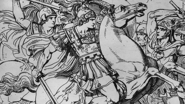 Alexander the Great (356-323 BC) is seen as the standard bearer for leadership.
