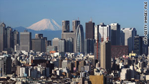 Japanese bankruptices fell at its fastest level in five years.