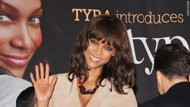 Tyra Banks visits the New York Stock Exchange on March 15, 2011. The mogul in the making is enrolled at HBS.