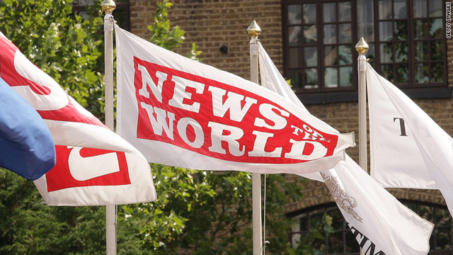The News of the World, based in London, is part of Rupert Murdoch's News International group.